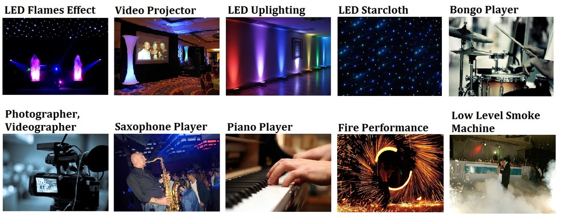 LED Uplighting hire london