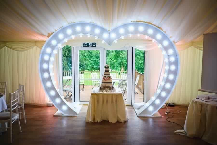 Wedding Heart Hire