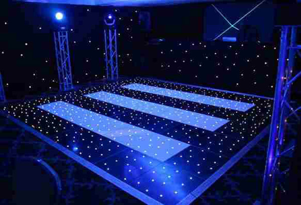 LED dance floor hire in london